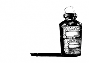 Chloroform Bottle.029